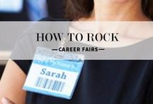 Career Fair Tips / Work a room, dress to impress, and knock their socks off with your resume — find these tips and more in our Career Fair Tips board.  / by Career Development Center