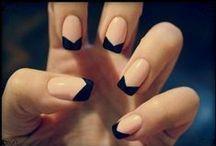 Nail art. / Cute but hard.