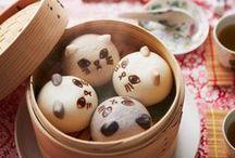中華まん/Chinese steamed bun / 可愛らしいものからゴージャスなものまで、様々な中華まんを集めました