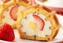 ロールケーキ/Swiss roll / ロールケーキのおいしそうな写真を集めました
