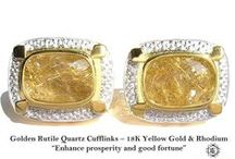 Cufflinks Luxury Model - Elite & Luck Cufflinks / Elite & Luck Cufflinks Luxury Model. Luxury Gemstone Sterling Silver Cufflinks that enhance your Elite, Luck, Love, Wealth, etc.