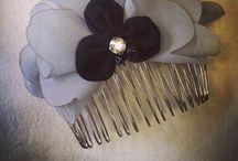 Pelo / Diademas, horquillas, tocados, sombreros... Todo tipo de complementos para el pelo de estilo vintage, y realizados artesanalmente.