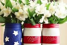 4th of July Party / | Inspiration for an amazing Patriotic Party to honor our country's heroes |