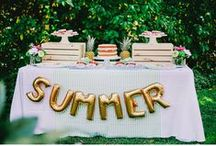 Summer Soiree / | Inspiration for a Summer Soiree for both Adults & Kiddos! |