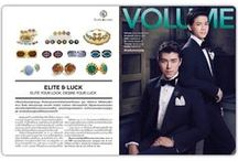 "Elite & Luck Cufflinks in VOLUME Magazine / ""Elite & Luck Cufflinks"" Feature story in VOLUME Magazine (Thailand), November 2015. Learn more about our cufflinks at www.eliteandluck.com"