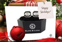 Christmas & New Year / Elite & Luck Cufflinks in Christmas & New Year.