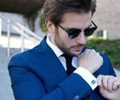 Rafa Sequeira with Elite & Luck Cufflinks / Rafa Sequeira (@rafasequeira) with Elite & Luck Cufflinks
