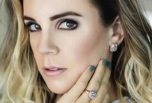 Manou Oeschger with Elite & Luck Ring and Earrings / Manou Oeschger (@officialmanou) with Elite & Luck Ring and Earrings