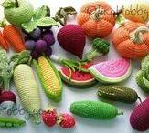 Háčkování ovoce a zelenina