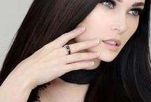 Niece Waidhofer with Elite & Luck Ring and Earrings / Niece Waidhofer (@niecewaidhofer)with Elite & Luck Ring and Earrings