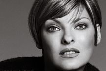 Beauty - Linda Evangelista / THE Supermodel of the 90's. What an inspiring beauty!