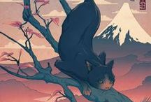 Kocie ilustracje_ Cat's illustrations
