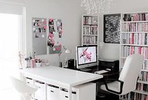 Make it work from home / Tips for busy mums working from home and ideas for creating an inspiring work space