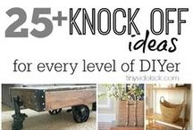 DIY Furniture / Fun ways to remodel, build, paint, stain, and upholster your own furniture pieces.