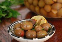 Olives (brining)