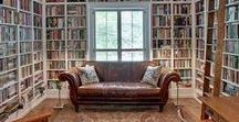 Inspiration! Home Library / Stylisch ideas for a place to store all of my precious books...