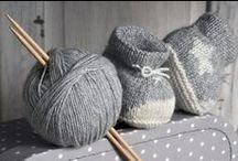 háčkované a pletené botičky, papuče, ponožky