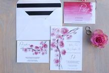 Wedding Invitations by Bohemian Mint