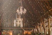Rustic wedding inspiration / Inspiration for rustic themed weddings.