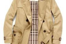 Burberry + Trench Coats + Duffel coats