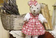 šité panenky, zvířátka, .....