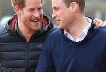 Royal Family - UK Brothers / Prince Willam and Prince Harry of Wales throughout the years