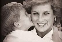 Royal Beauty - Diana's Boys / Princess Diana and her sons Prince William and Prince Harry of Wales