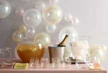 party ideas / Fun, colorful, bright and cheerful party ideas.
