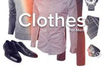 Clothes / Clothes | Men | Ropa / by Rodrigo Alejandro Rangel Sanchez