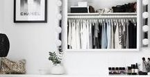 Closets / Beautiful, organized, inspirational closets.