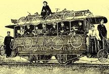 Bici  + tren, bus, etc. / Bici + tren, bus, Transporte de bicis.