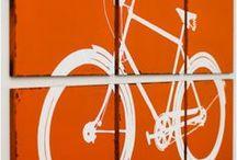 Carteles bici / Carteles, posters, ilustraciones, etc sobre bicis