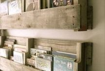 Recycled pallets / Inspirational ideas for recycling and upcycling wooden pallets