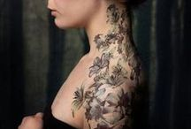 tattoos / i miei tatuaggi preferiti pensati per il corpo femminile, sempre interessanti ed eleganti