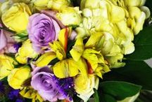 Yellow Wedding Bouquets / Enjoy everything yellow here on this board...time to brighten things up!