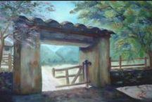 Maria Nelyda Contreras / Pintura al Oleo, Carbonsillo, Pastel, Muralismo.  Toda clase de categorias, Bodegones, paisajes, desnudos, rostros, Figura Humana