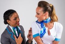 #GHD / GHD & AirDolomiti - New hair styles for our flight attendants