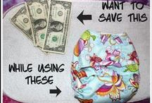 Cloth Diapers on a Budget / Save money buying and using cloth diapers.