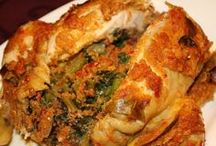 WILD SPICY! Ayam Betutu Indonesia / Shows you photos of a local food from Indonesia, Ayam Betutu!