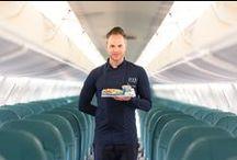 Simone Rugiati flies with Air Dolomiti / AirDolomiti's new on board event with #Chef #SimoneRugiati