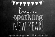 New Years Inspiration / New Years, Silvester, Party, Sparkle and Sparkling Wine