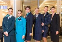 Air Dolomiti - 25th Anniversary / Our six vintage uniforms together for one day