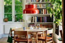 Keittiö köket / Kök inredning, matbord, köksö