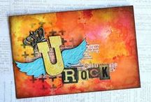 Tim Holtz / Projects made using Tim Holtz products.