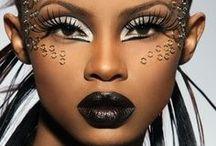 Makeup, Hair & Headpieces: Over the Top