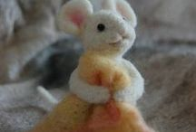 Crafts - yarn/fabric/sewing / by Miranda Cole