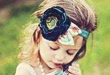 Baby headbands/outfits / by Juanita Green