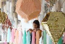 Piñata Love/ Hochzeitsdeko / Hochzeitsdeko - Pinatas