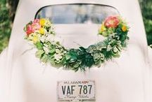Beförderung/ Hochzeitautos / Hochzeitsautos/ Autoschmuck zur Hochzeit