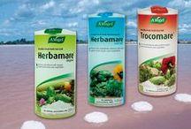 A. Vogel Herbamare® / Σειρά A.Vogel Herbamare  (Herbamare Original, Trocomare & Herbamare Diet)  Σειρά αλάτων και φυσικά υποκατάστατα αλατιού, με πολύ χαμηλή ποσότητα νατρίου, συνδυασμένα με φρέσκα συστατικά και βότανα, των οποίων οι χαρακτηριστικές ιδιότητες και τα φυσικά τους αρώματα, διατηρούνται στο αλάτι.  www.avogel.gr http://www.avogel.gr/product-finder/avogel/herbamare_original.php http://www.avogel.gr/product-finder/avogel/herbamare_diet.php http://www.avogel.gr/product-finder/avogel/trocomare.php